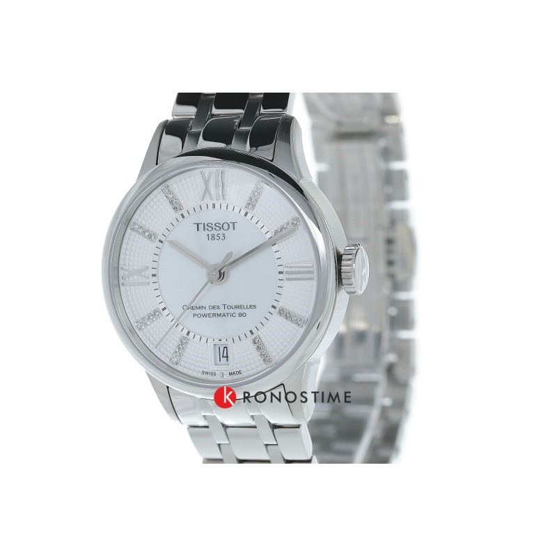 Фотография часов Tissot Chemin Des Tourelles Powermatic 80 Lady T099.207.11.116.00_2
