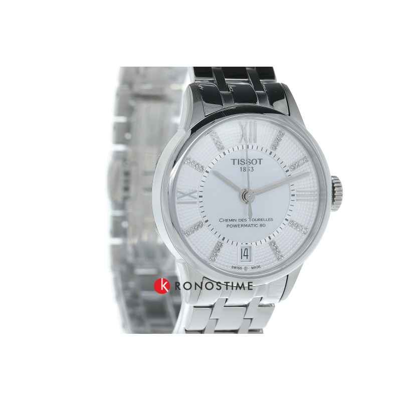 Фотография часов Tissot Chemin Des Tourelles Powermatic 80 Lady T099.207.11.116.00_34
