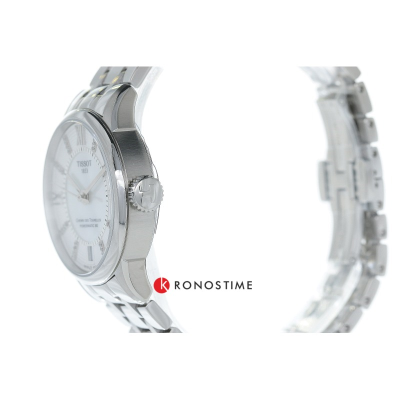Фотография часов Tissot Chemin Des Tourelles Powermatic 80 Lady T099.207.11.116.00_6