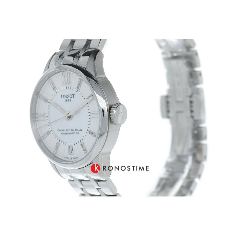 Фотография часов Tissot Chemin Des Tourelles Powermatic 80 Lady T099.207.11.116.00_4