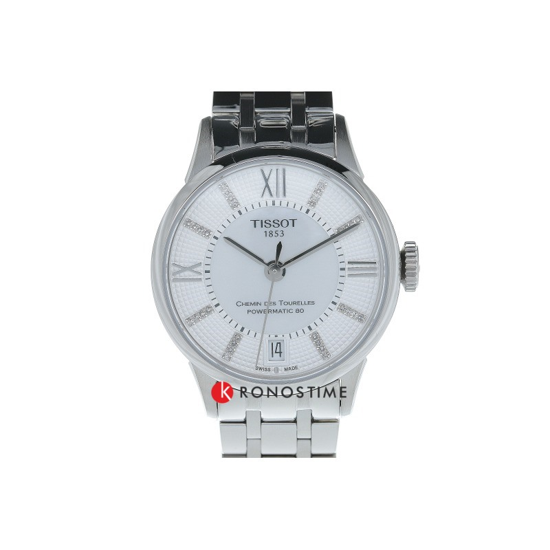 Фотография часов Tissot Chemin Des Tourelles Powermatic 80 Lady T099.207.11.116.00