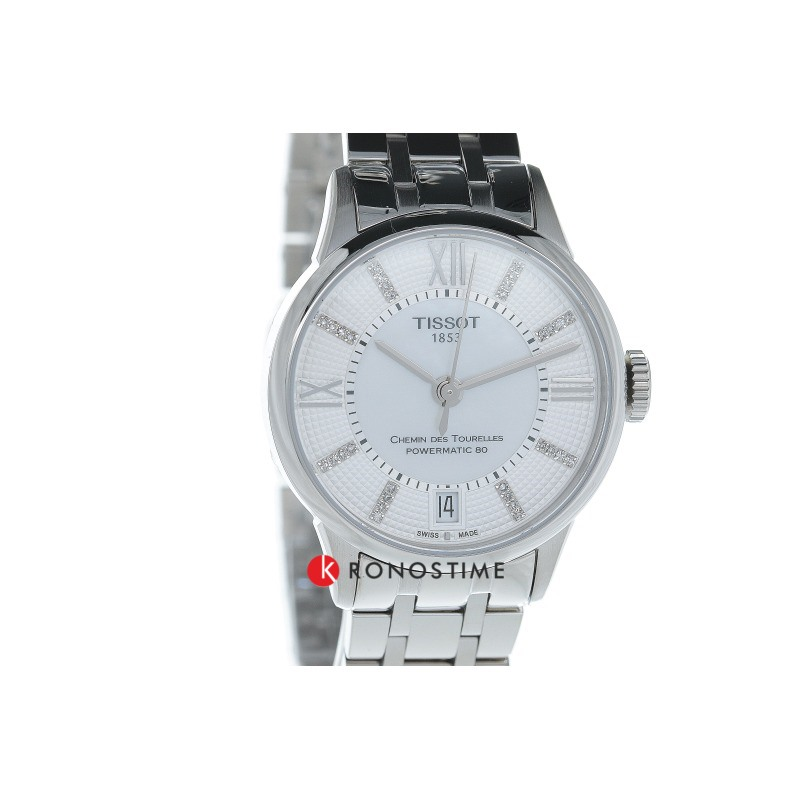 Фотография часов Tissot Chemin Des Tourelles Powermatic 80 Lady T099.207.11.116.00_35