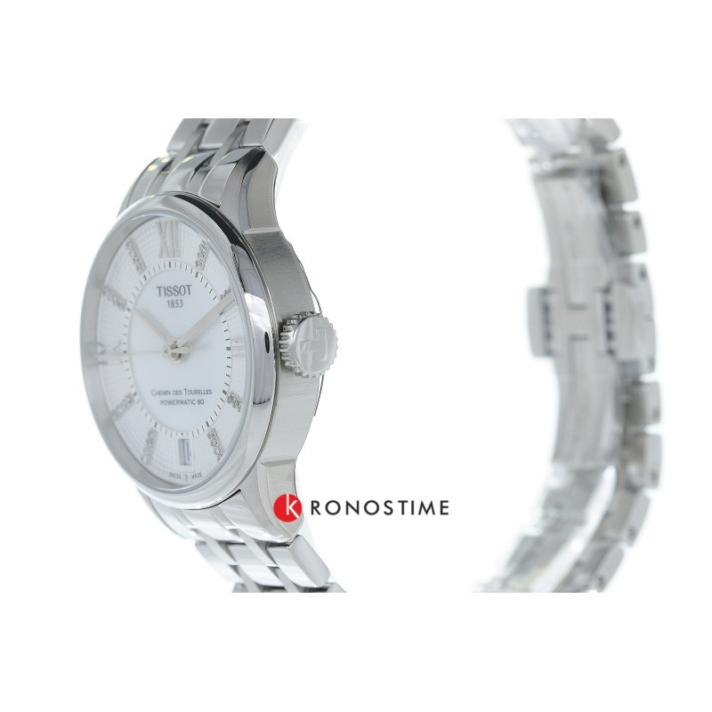 Фотография часов Tissot Chemin Des Tourelles Powermatic 80 Lady T099.207.11.116.00_5