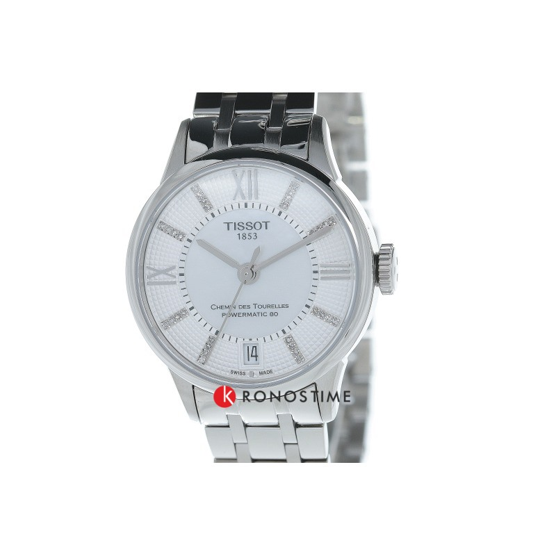 Фотография часов Tissot Chemin Des Tourelles Powermatic 80 Lady T099.207.11.116.00_1