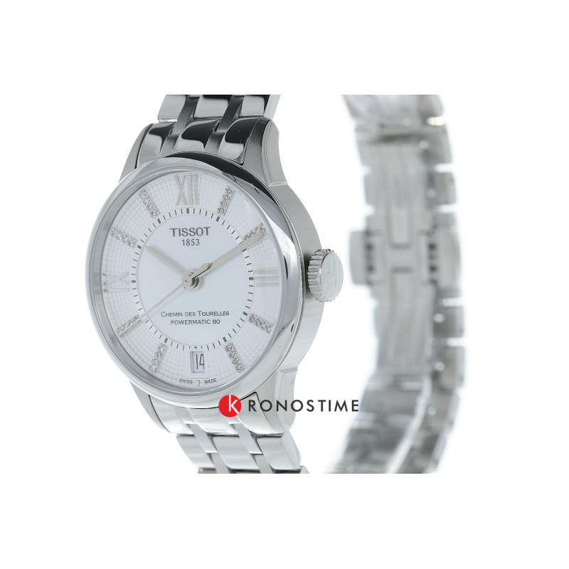 Фотография часов Tissot Chemin Des Tourelles Powermatic 80 Lady T099.207.11.116.00_3